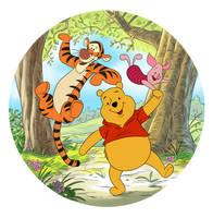 Winnie the Pooh Jigsaw by JustinWyatt