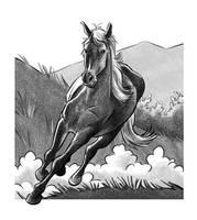 Wild Horse by JustinWyatt