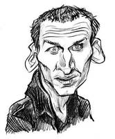 Christopher Eccleston by JustinWyatt
