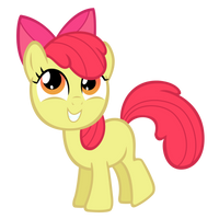 Applebloom Vector 3 by Ashidaru