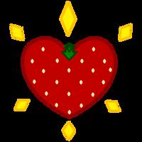 Strawberry Surprise Cutie Mark by Ashidaru