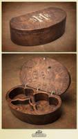 Byzantine olive wood box by WSi