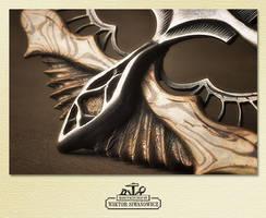 mantis pendant_detail2 by WSi