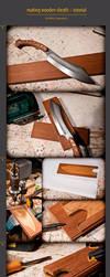 wooden sheath tutorial by WSi