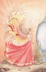 The Fire Girl by Raafke