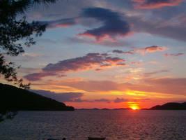 Croatia Sunset by Venea
