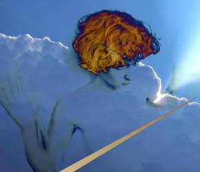 an angel by Batsceba