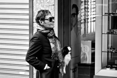 the man with the foulard by Batsceba
