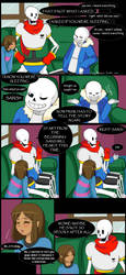 QuantumTale - Chapter 1: Retry pg2 by FoxyPheonix