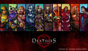 DEATHIES Gods of Death by r-chie