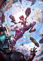 Nekona Raid Game by r-chie