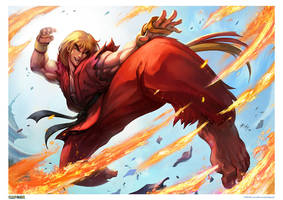 Ken Masters by r-chie