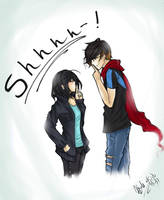Shhhh-! by SpiderShii