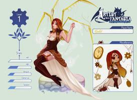 Gold {Artist-Fantasia App} by SpiderShii