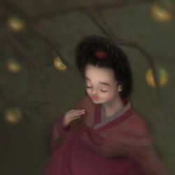 persimmon tree by SophiaFeesh