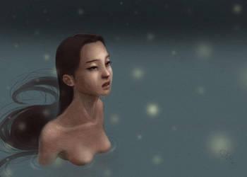 Sorrowful Solitude by SophiaFeesh