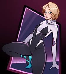 Spider Gwen by Shellvi