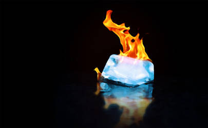 Ice on fire by Adinad4