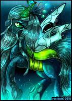 Queen Chrysalis by rocioam7