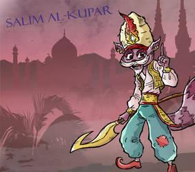 Sly and His Ancestor: Salim Al Kupar by loaldnt