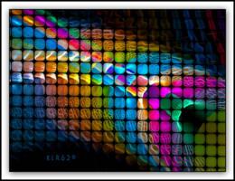 Rainbow Cubes by KLR620