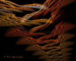 Textile Fiber Art by KLR620