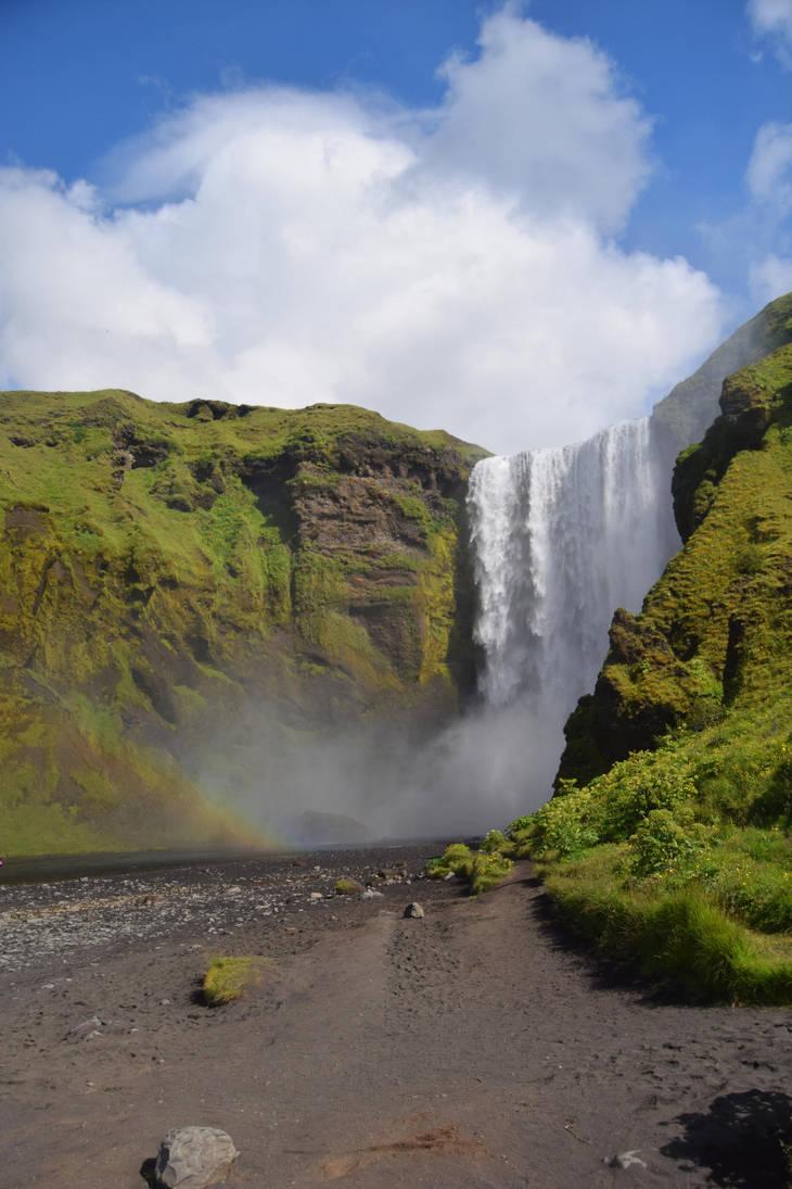Iceland Stock 11 Skogafoss by Lavander-Thistle