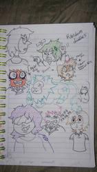 my oc for Steven Universe by clydespreekiller