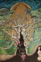 Id Tree painting by marzenaabl