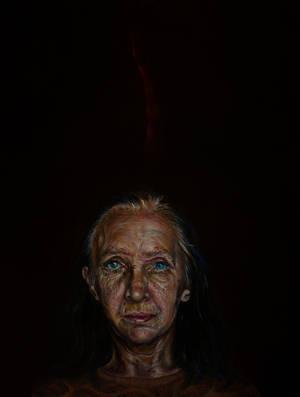Mother's portrait by marzenaabl
