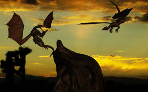 Desert Dragons by SavageDragon1313