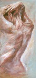 Nude in the bath 2 by renatadomagalska