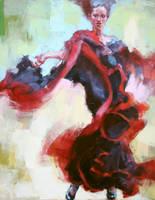 FLAMENCO DANCER 25-08 by renatadomagalska