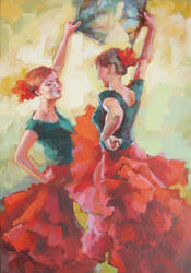 YOUNG DANCERS by renatadomagalska