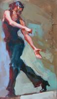 dancer no 25-2011 by renatadomagalska
