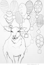 Animals collage 32-16 by renatadomagalska