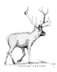 fucking hunters by renatadomagalska
