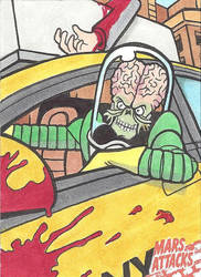 MARS ATTACKS: OCCUPATION PREVIEW Cab Driver by Tyrant-1