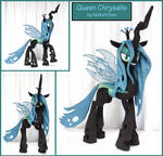 MLP Queen Chrysalis Plushie by MakeItSew