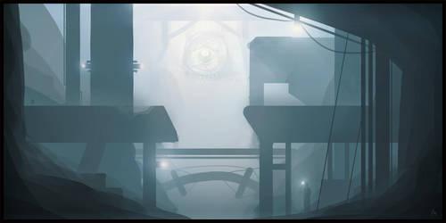 Underground space by A4size-ska