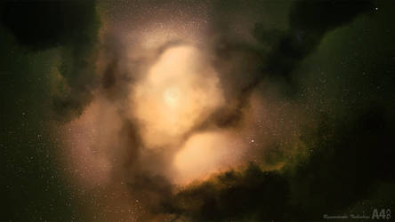 Birth of a star by A4size-ska