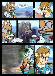 Infinity War (Smash Bros Ultimate Edition) Pg. 1 by BLoLorbes