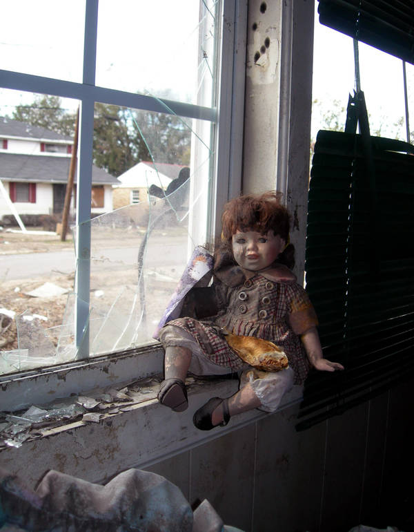 Doll in Window by Kicks02