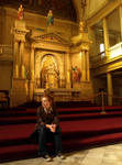 Erin at St.Louis Cathdral by Kicks02