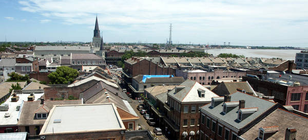 French Quarter Rooftops 2 by Kicks02