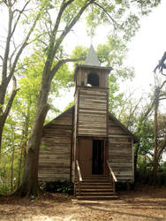 Cajun Village - Church 1 by Kicks02