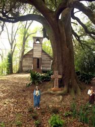 Cajun Village - Church 5 by Kicks02