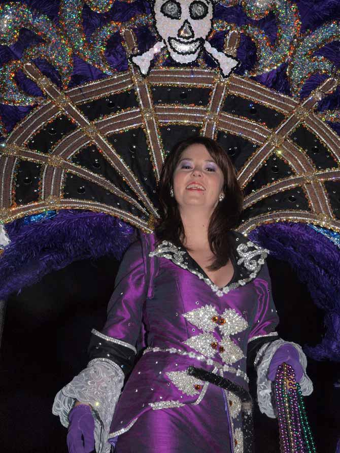 Mardi Gras Purple Maid by Kicks02