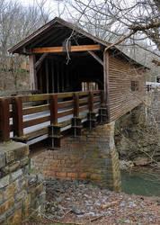 Covered Bridge, Smoky Mountains (106) by Kicks02