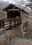 Covered Bridge, Smoky Mountains (106) by Kicks02
